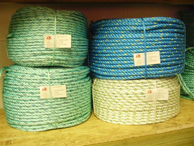 Eurosteel fishing rope